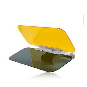 billige Til Bilen & Motorcyklen-ziqiao bil sol nuancer og visors dag og nat anti-glare beskyttelsesbriller night vision kørsel spejl til universelle