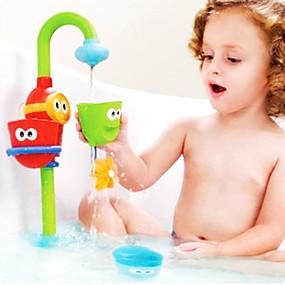 billige Udendørs legetøj-Baby spille vandbad spray buttressed jenga legetøj
