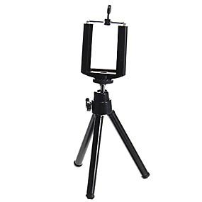 billige Smartphone-fotografering-sort justerbart stativ til mobiltelefon