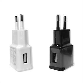 billige ladeplugg-eu plugglader adapter usb vegglader potetlader 1a for iphone samsung mobil reiselader