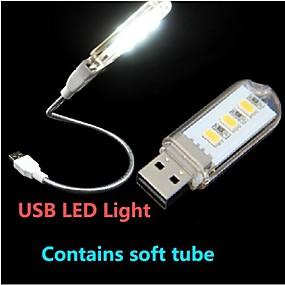 Недорогие LED гаджеты-1шт LED Night Light Светодиодная подсветка для чтения USB Декоративная 220.0