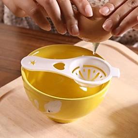 billige Til under kr. 5,94-Plast Skummer Kreativ Køkkengadget Køkkenredskaber Værktøj til æg