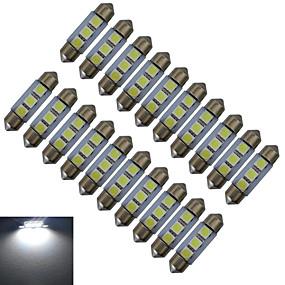 Недорогие Прочие светодиодные лампы-20pcs 1 W 60 lm 3 Светодиодные бусины SMD 5050 Холодный белый 12 V / 20 шт.