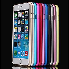 olcso iPhone tokok-Case Kompatibilitás Apple iPhone 8 / iPhone 8 Plus / iPhone 6 Plus Ütésálló / Ultra-vékeny Védőkeret Egyszínű Kemény Fém mert iPhone 8 Plus / iPhone 8 / iPhone 7 Plus