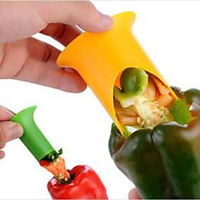 ieftine Ustensile Bucătărie & Gadget-uri-Teak Remover de semințe Novelty Instrumente pentru ustensile de bucătărie pentru legume