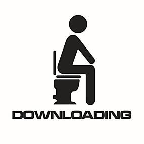 povoljno Gadgeti za kupaonicu-Naljepnice Toalet / Kada / Za tuširanje / Medicine Cabinets Plastika Višefunkcijski / Neljepljivo / Crtani film / Dar