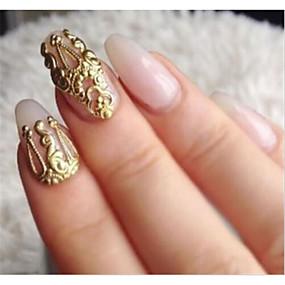 ieftine Machiaj & Îngrijire Unghii-MetalPistol Bijuterie unghii Pentru deget nail art pedichiura si manichiura Clasic / Punk Zilnic