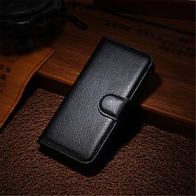 olcso iPhone tokok-de ji eset iphone xr xs xs max pénztárca / kártya tartó / állvánnyal szilárd színű kemény bőr iphone x 8 8 plus 7 7plus 6s 6s plus se 5 5s