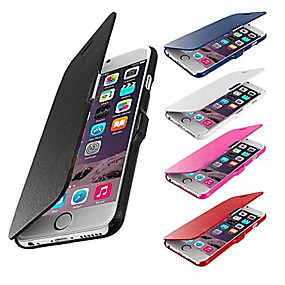 levne iPhone pouzdra-VORMOR Carcasă Pro Apple iPhone 6 Plus / iPhone 6 Celý kryt Pevné PU kůže pro iPhone 6s Plus / iPhone 6s Plus / 6 Plus / iPhone 6s