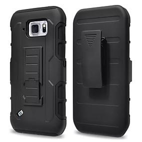 olcso Galaxy S tokok-SHI CHENG DA Case Kompatibilitás Samsung Galaxy Samsung Galaxy tok Vízálló / Ütésálló / Porálló Fekete tok Páncél PC mert S6 Active / S4 Mini