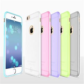 levne iPhone pouzdra-HOCO Carcasă Pro Apple iPhone 8 / iPhone 8 Plus / iPhone 6 Plus Ultra tenké / Matné / Průsvitný Zadní kryt Jednobarevné Měkké Silikon pro iPhone 8 Plus / iPhone 8 / iPhone 6s Plus