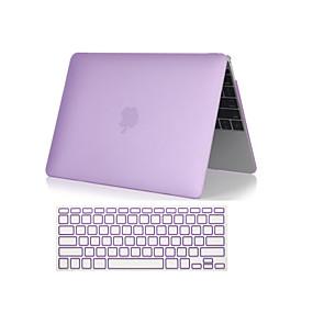 billige Mac-tilbehør-Kombineret beskyttelse Ensfarvet / Transparent Plast for MacBook Air 11-tommer / MacBook Air 13-tommer