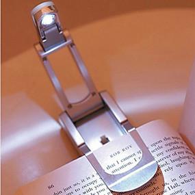 ieftine Decorațiuni Casă-lămpi de lectură led lumini de carte pliabil iluminat interior reglabil decoratiuni interioare portabile flexibile cu un clip de carte