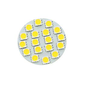 billige LED-lamper med G-sokkel-SENCART 1pc 5 W LED-spotlys 450-480 lm G4 MR11 18 LED Perler SMD 5730 Dæmpbar Varm hvid Kold hvid Naturlig hvid 12 V / 1 stk. / RoHs