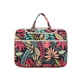 """cheap Daily Deals-13.3"""" Laptop Briefcase Handbags Fabrics Flower for Macbook/Surface/HP/Dell/Samsung/Sony Etc"""
