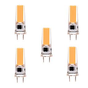 Недорогие Профессиональное освещение-ywxlight® 5pcs g8 2508 5w 350-450 lm светодиодный двухконтактный светлый теплый белый холодный белый диммируемый 360-лучевой фонарь фары ac 110-130v ac 220-240v