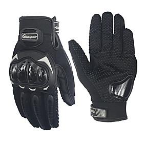 voordelige Motorhandschoenen-paardrijden stam professionele anti-slip volledige vinger motorsport handschoenen mcs-17