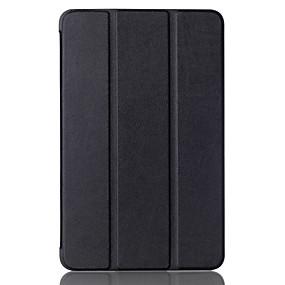 tanie Akcesoria do tabletów-Kılıf Na Samsung Galaxy Pełne etui / Etui na tablety Solidne kolory Twardość Skóra PU na Tab A 10.1 (2016)