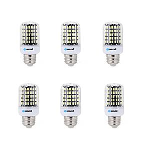 ieftine Becuri LED Corn-BRELONG® 6pcs 7 W Becuri LED Corn 450 lm E14 B22 E26 / E27 B 108 LED-uri de margele SMD 5733 Decorativ Alb Cald Alb Rece 220-240 V 200-240 V / 6 bc / RoHs