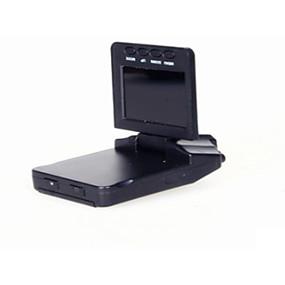 billige Bil-DVR-720p Bil DVR 120 grader Bred vinkel 3 MP CMOS 2.4 tommers Dash Cam med Bevegelsessensor 6 infrarøde LED Bilopptaker