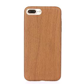 levne iPhone pouzdra-ASLING Carcasă Pro iPhone 7 / iPhone 7 Plus / Apple iPhone 7 / iPhone 7 Plus Nárazuvzdorné / Ultra tenké Zadní kryt Textura dřeva Měkké PU kůže pro iPhone 7 Plus / iPhone 7