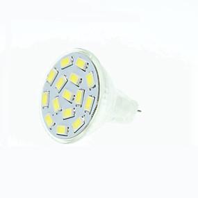 abordables Luces LED de Doble Pin-SENCART 1pc 5 W Focos LED 3000-3500/6000-6500 lm MR11 15 Cuentas LED SMD 5630 Regulable Blanco Cálido Blanco Natural Rojo 12 V 24 V 09.30 V / 1 pieza / Cañas