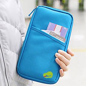 economico Accessori da viaggio-Organizzatore di viaggi / Marsupio / Portadocumenti Massima capacità / Ompermeabile / Portatile per Abbigliamento Tessuto / Tinta unita Viaggi