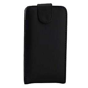 voordelige Galaxy J1 Hoesjes / covers-hoesje Voor Samsung Galaxy J7 / J5 (2016) / J5 Flip Volledig hoesje Effen Hard PU-nahka