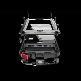 tanie Etui do iPhone-Kılıf Na Jabłko iPhone 8 / iPhone 8 Plus / iPhone 7 Odporność na wodę / brud / uderzenia Pełne etui Solidne kolory Twardość Aluminium na iPhone XS / iPhone XR / iPhone XS Max
