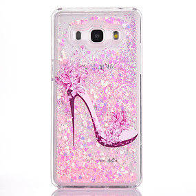 voordelige Galaxy Grand Prime Hoesjes / covers-hoesje Voor Samsung Galaxy Grand Prime Stromende vloeistof / Patroon Achterkant Sexy dame Hard PC