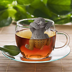 levne Kuchyně a jídelny-Síto Zábavné Dátek Pro Denní kávová Čaj Silikon