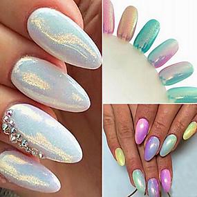 cheap Makeup & Nail Care-10g mermaid powder gradient symphony glitter powder powder nail art decoration