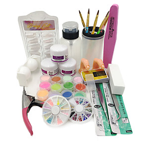 cheap Makeup & Nail Care-1 set Nail Art Kit For Finger Nail Toe Nail nail art Manicure Pedicure Chic & Modern / Trendy