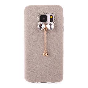 voordelige Galaxy S6 Edge Plus Hoesjes / covers-hoesje Voor Samsung Galaxy S7 edge / S7 / S6 edge plus Mat / DHZ Achterkant Glitterglans Zacht TPU