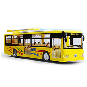cheap Leisure Hobbies-Toy Car Bus Bus Classic Music & Light Classic Boys' Girls' Toy Gift