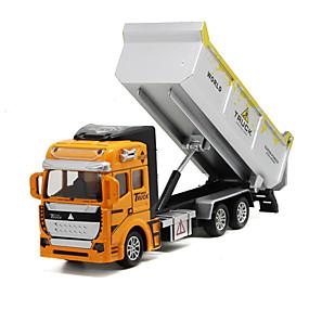 baratos Carrinhos de Brinquedo & Miniaturas-Caminhão basculante Caminhões & Veículos de Construção Civil / Carros de Brinquedo 1: 160 Metalic / Plástico 1 pcs Crianças Brinquedos Dom