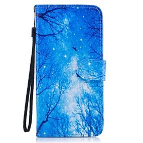 halpa Galaxy S -sarjan kotelot / kuoret-Etui Käyttötarkoitus Samsung Galaxy S8 Plus / S8 Lomapkko / Korttikotelo / Tuella Suojakuori Scenery Kova PU-nahka varten S8 Plus / S8 / S7 edge