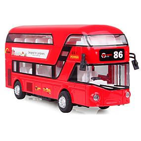 voordelige Gegoten & Speelgoedvoertuigen-Terugtrekvoertuigen Truck Unisex Speeltjes Geschenk