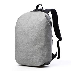"""tanie Gadżety do laptopów-Tuguan 15"""" Laptop Plecaki Tekstylny Jednokolorowe dla biura biznesowego dla Colleages & Schools na podróż Odporne na wstrząsy"""