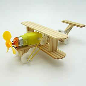 economico Modellini e costruzioni giocattolo-Kit per costruzioni Gioco educativo Velivolo Batteria Fai da te Elettrico Da ragazza Giocattoli Regalo