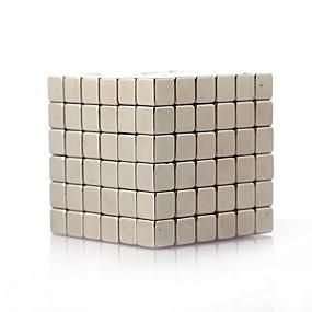 olcso Játékok & hobbi-216 pcs 4mm Mágneses játékok Építőkockák Super Strong ritkaföldfémmágnes Neodímium mágnes Rubik-kocka Puzzle Cube Mágneses Gyermek / Felnőttek Fiú Lány Játékok Ajándék