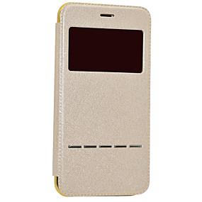 levne iPhone pouzdra-Carcasă Pro Apple iPhone 8 / iPhone 8 Plus s okýnkem / Automatické probouzení / Galvanizované Celý kryt Třpytivý Pevné PU kůže pro iPhone 8 Plus / iPhone 8 / iPhone 7 Plus