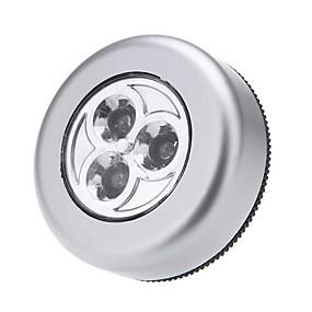 ieftine Lumini & Gadget-uri LED-3 condus de lumină atinge lumina de noapte lumina de noapte masina acasă perete camping baterie de putere