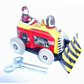 olcso Játékok & hobbi-Felhúzós játék Dózer Vas Fém 1 pcs Darabok Gyermek Játékok Ajándék