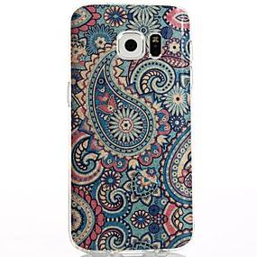 voordelige Galaxy S7 Edge Hoesjes / covers-hoesje Voor Samsung Galaxy S8 Plus / S8 / S7 edge IMD / Patroon Achterkant Cartoon / Uil Zacht TPU