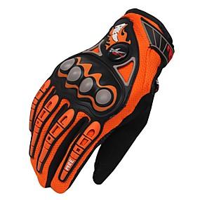 voordelige Motorhoezen-Activiteit/Sport Handschoenen Unisex Fietshandschoenen Wielrenhandschoenen Ademend Beschermend Lange Vinger Doek Fietshandschoenen