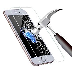 abordables Protections Ecran pour iPhone 6s / 6 Plus-Protecteur d'écran pour Apple iPhone 6s Plus / iPhone 6 Plus Verre Trempé 1 pièce Ecran de Protection Avant Haute Définition (HD) / Dureté 9H / Coin Arrondi 2.5D