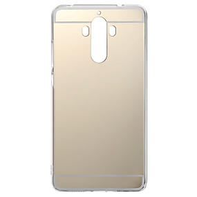 voordelige Huawei Honor hoesjes / covers-hoesje Voor Huawei Honor 4X / Huawei Honor 7 / Huawei P9 P10 Lite / P10 / Huawei P9 Plus Beplating / Spiegel Achterkant Effen Zacht TPU / Huawei P9 Lite