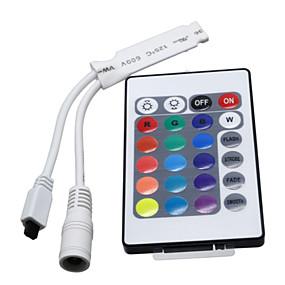 Недорогие RGB контроллеры-Пульт управления Контроллер RGB Пластик 1 ед. Осветительная арматура