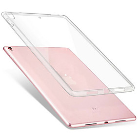 billige Apple-tilbehør-Etui Til Apple Stødsikker / Transparent Fuldt etui Ensfarvet Blødt TPU for iPad Air / iPad 4/3/2 / iPad Mini 3/2/1 / iPad Pro 10.5 / iPad (2017)